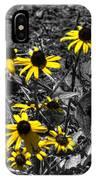 Flower Black Eyed Susan IPhone Case