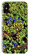 Flower Carpet. Sochi Arboretum. IPhone Case