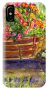 Flower Cart IPhone Case
