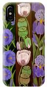 Flower Composition 5 IPhone Case