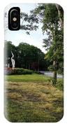 Flower Crane IPhone Case