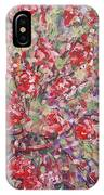 Flower Feelings. IPhone Case