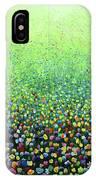 Flower Field Riot IPhone Case