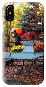 Flower Filled Wagon IPhone Case