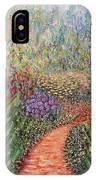 Flower Gar02den  IPhone Case by Lynn Buettner