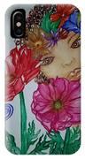 Flower Goddess  IPhone Case