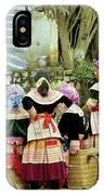 Flower Hmong Women 02 IPhone Case
