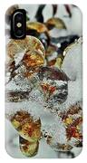 Flower Icicle. IPhone Case