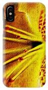 Flower In Abstraction Art IPhone Case