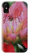 Flower In Stain Glass IPhone Case