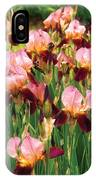 Flower - Iris - Gy Morrison IPhone Case