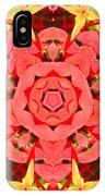 Flower Kaleidoscope IPhone Case