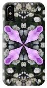 Flower Kaleidoscope_001 IPhone Case