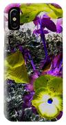 Flower Like Purple And Yellow IPhone Case
