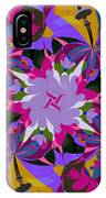 Flower Mont IPhone Case