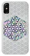Flower Of Life Abalone Shell On Pearl IPhone Case