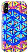Flower Of Life Fractle IPhone Case