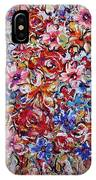 Flower Passion IPhone Case