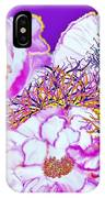 Flower Portrait Painting IPhone Case
