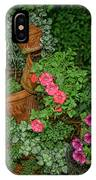 Flower Pot Tapestry IPhone Case