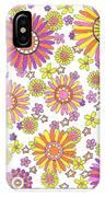 Flower Power 1 IPhone X Case