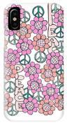 Flower Power 8 IPhone X Case