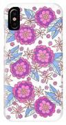 Flower Power 9 IPhone X Case