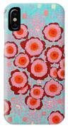 Flower Spreading  IPhone Case