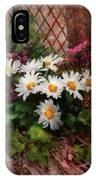 Flower - Still - Seat Reserved IPhone Case