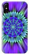 Flower Translucent 19 IPhone Case