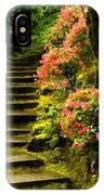 Flower Walk IPhone Case
