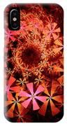 Flower Whirlpool IPhone Case