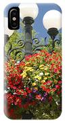 Flowered Lamppost IPhone Case