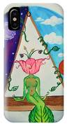 Flowered Out IPhone Case