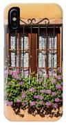 Flowered Window # II IPhone Case