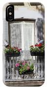 Flowered Window IPhone Case