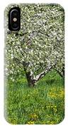 Flowering Apple Orchard IPhone Case