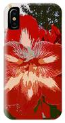Flowering Backyard Work Number 33 IPhone Case