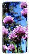 Flowering Chives IPhone Case