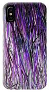 Flowering Grass Of The Future IPhone Case