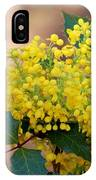 Flowering Plant 032514a IPhone Case