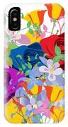 Flowers 7 IPhone Case