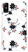 Flowers All Around IPhone Case