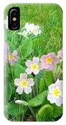 Flowers Along The Edge 1006 IPhone Case