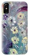 Flowers And Dreams 5 IPhone Case