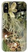 Flowers And Icicles IPhone Case