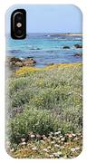 Flowers And Surf IPhone Case