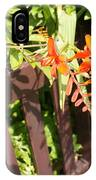 Flowers' Bench IPhone Case
