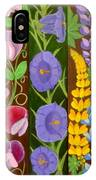 Flowers Composition 6 IPhone Case