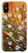 Flowers Field IPhone Case